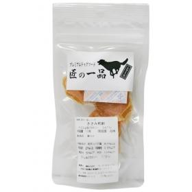 「【匠の一品シリーズ】 愛犬健康おやつ ささみ煎餅 10枚入り(絹株式会社)」の商品画像