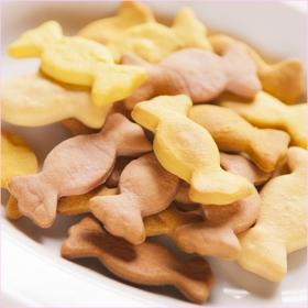 「【ボンボンコピーヌ】犬猫の無添加おやつ / Sweetクッキー 80g (絹株式会社)」の商品画像