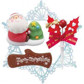 「クリスマスケーキオーナメント(アートキャンディ株式会社)」の商品画像