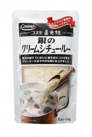 コスモ食品株式会社の取り扱い商品「コスモ直火焼 銀のクリームシチュー・ルー」の画像