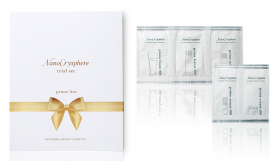 ホソカワミクロン化粧品株式会社の取り扱い商品「ナノクリスフェアトライアルセット」の画像